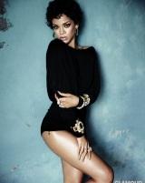Pics from Rihanna's Glamourshoot