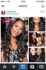 Edee Beau gives Nigerian Blogger Linda Ikeji aMakeover
